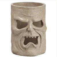 Scary Ghoul Face Candle Holder