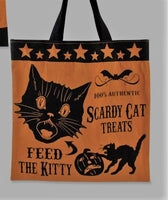 Scardy Cat Tick or Treat Bag Large - Bethany Lowe
