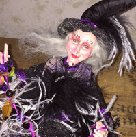 Tilda Toadspell Whimsical Witch Doll