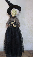 The Banshee Witch Whimsical Halloween Doll