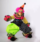 Pink Haired Clown Doll - Katherine's Collection
