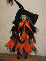 Coutura The Fashon Witch - Whimsical Doll