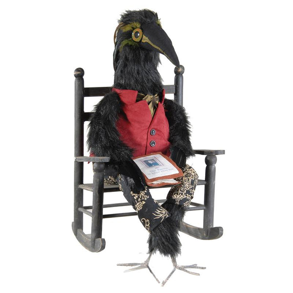 Edgar Allen Crow Doll