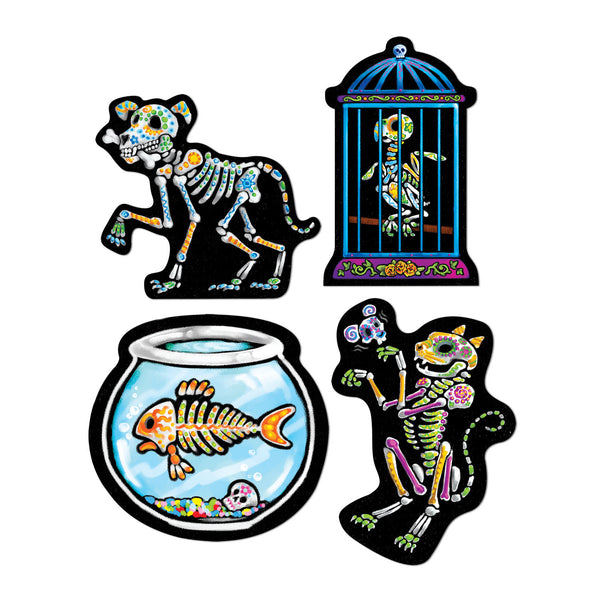 Day of the Dead Skeleton Pet Cutouts