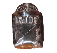 Large Metal Tombstone Candy Dish