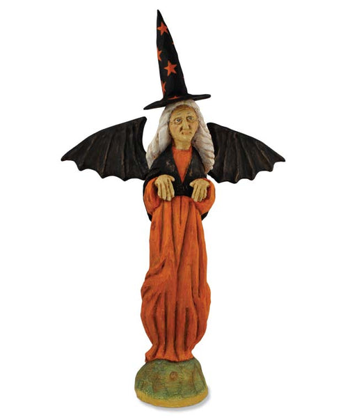 WItch with Bat wings Figure - Bethany Lowe