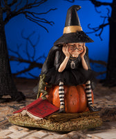 Fear of Flying Witch Figure - Bethany Lowe