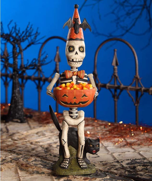 Candy Creep Skeleton Figure- Bethany Lowe