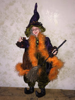 Glamoura Glitter Whimsical Witch Doll