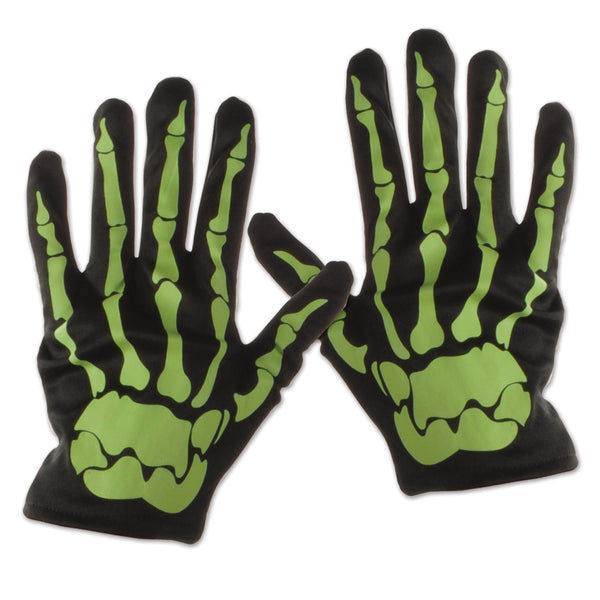 Skeleton Hand Gloves - Glow in the Dark