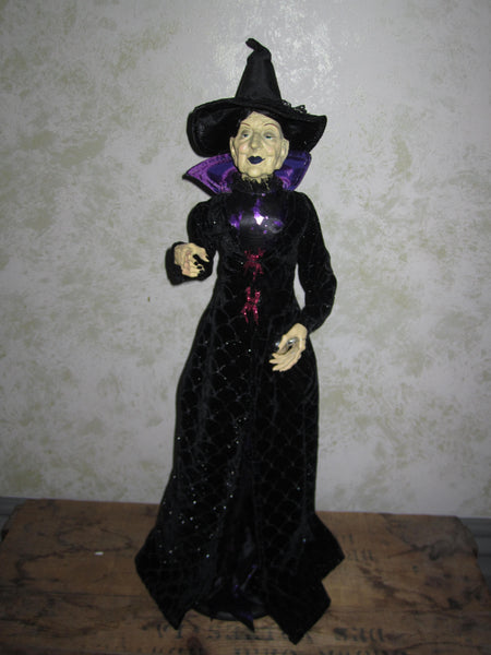 Grandell McSpell Whimsical Witch Doll