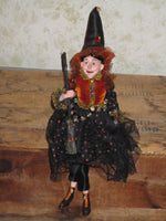 Grizelda Whimsical Witch Doll