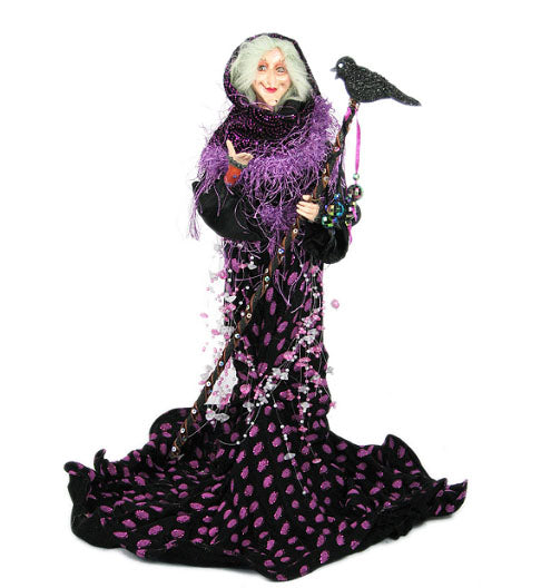 Grand High Whimsical Witch Doll