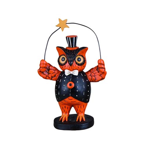 Owl with a Star Figure