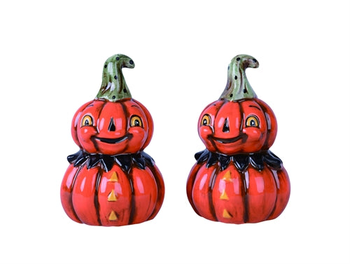 Pumpkinman Salt & Pepper Shaker set