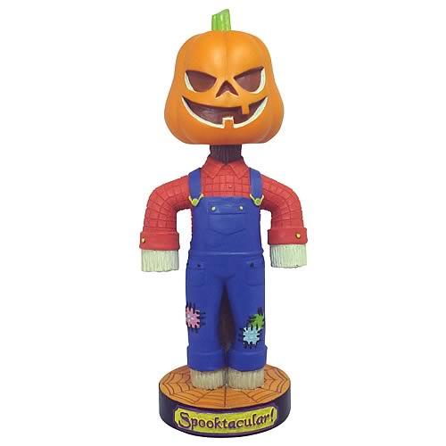 Jack-O-Lantern Bobble Head - Halloween