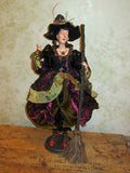 Jaquetta Spellbinder Whimsical Witch Doll