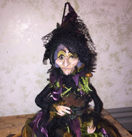 Lemanda the Swamp Witch Doll - Katherine's Collection