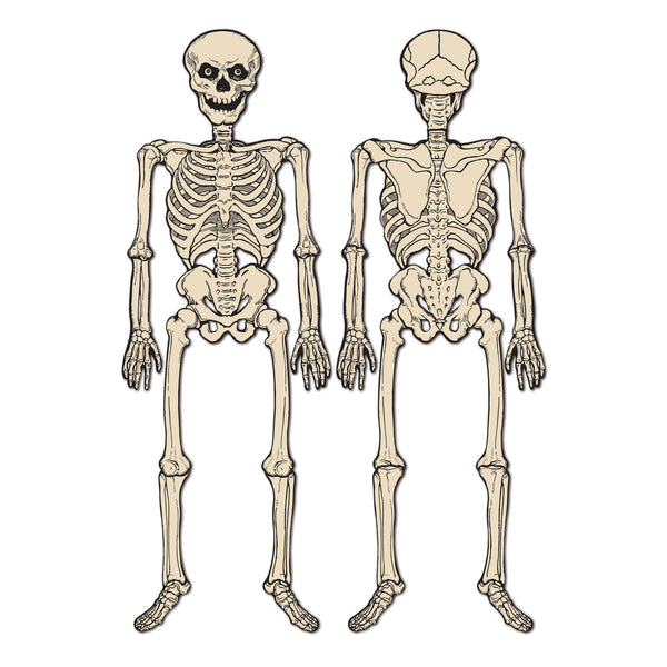 Huge Jointed Skeleton Cutout