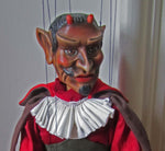 Lucifer the Devil  - Wooden Marionette Doll