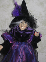 Miss Cackle Whimsical Witch Doll