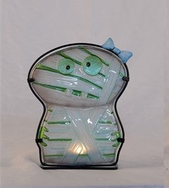 Stained Glass Mummy Candle Light Holder
