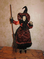 Moona Bo Peep Whimsical Witch Doll