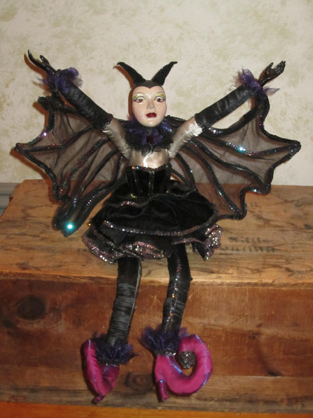 Nocturnella - the Bat Girl Doll - Katherine's Collection