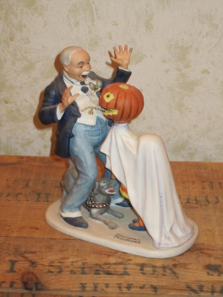 Halloween - Norman Rockwell Figure