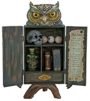 Owl Potion Cabinet - Katherine's Collection
