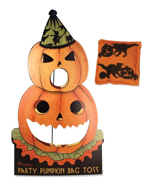 Party Pumpkin Bag Toss - Bethany Lowe