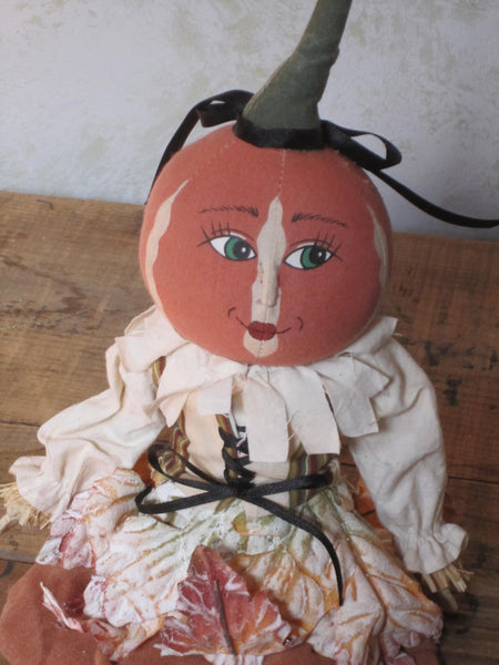 Little Pumpkin Gal Doll - Joe Spencer
