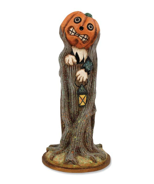 Pumpkin Coming Out of Tree Figure- Bethany Lowe