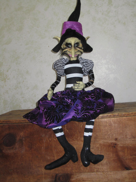 Rosemary the Goblin Witch Doll