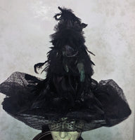 Raven Witch Hat