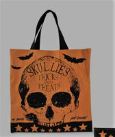 Skullies Tick or Treat Bag Large - Bethany Lowe