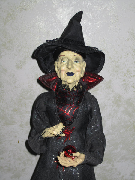 Rose Redd Whimsical Witch Doll
