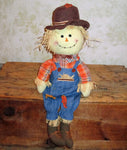 Scarecrow Plush Display Doll