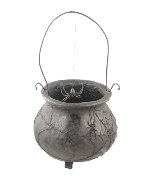 Witch's Spiderweb Cauldron
