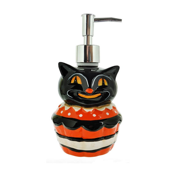 Black Cat Soap Dispenser