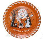 Large Metal Halloween Tray - Vintage