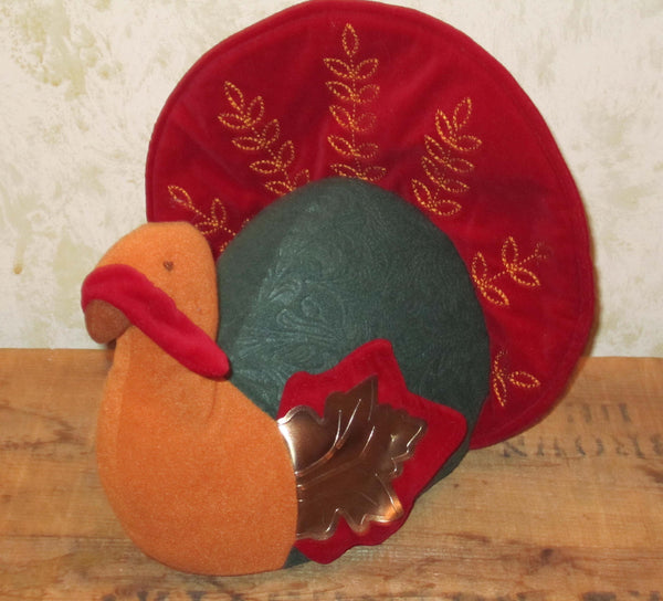 Plush Thanksgiving Turkey Display