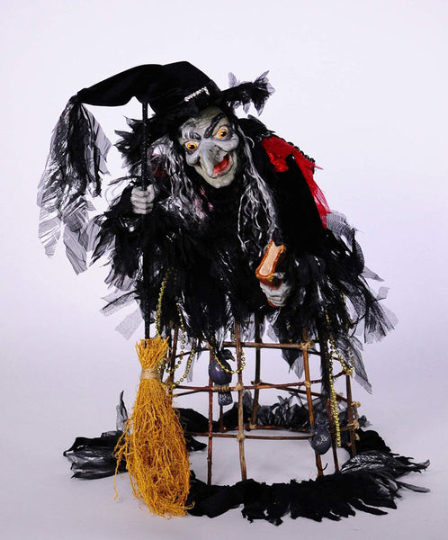 Katherine's Collection - Mamerta Cage Witch Doll - Halloween