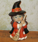Little Witch Girl Figurine