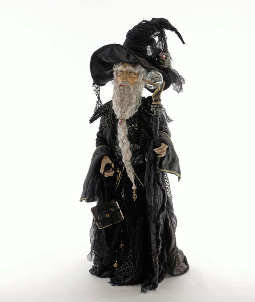 Krooked Kingdom Wizard Doll - Katherine's Collection