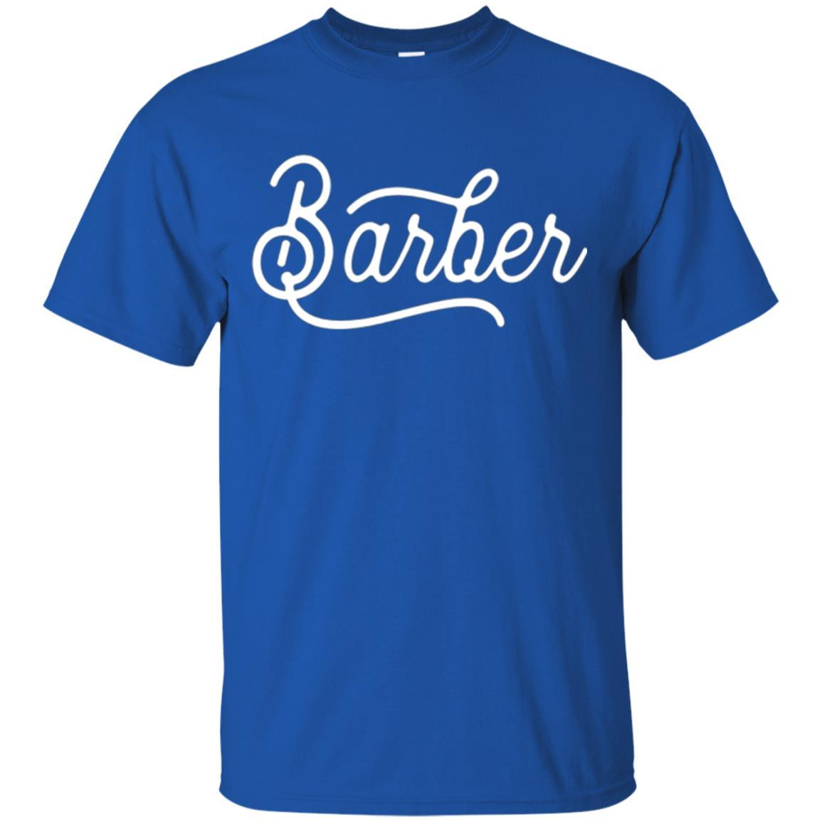 Barber Gift Idea For Barbers T Shirt For Graduation Zgalaxy Fashion T