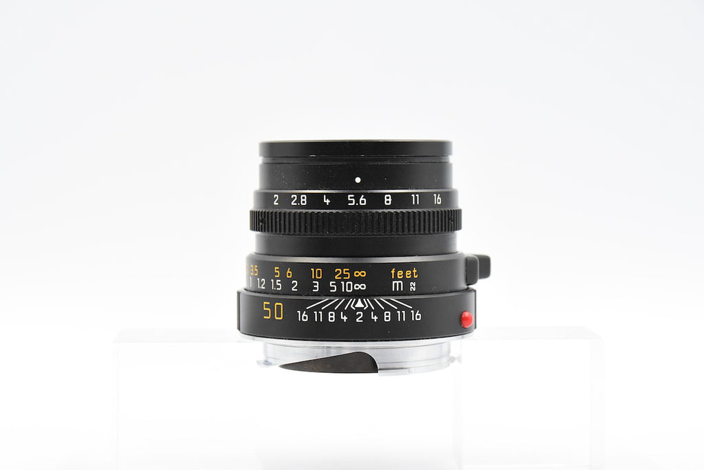 LEICA SUMMICRON-M 50mm F2 E39 GERMANY SN.3588297 3rd Gen
