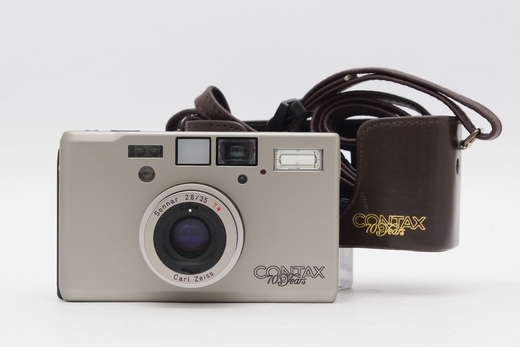 CONTAX T3 70 years Carl Zeiss Sonnar 35mm F2.8 T* SN: 035891