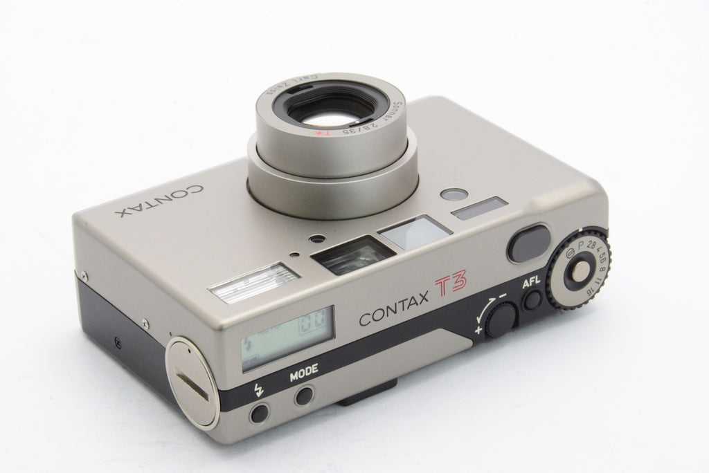 CONTAX T3 Late Model Carl Zeiss Sonnar 35mm F2.8 T* SN: 008644