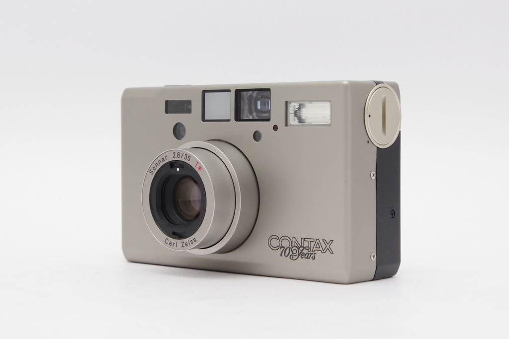 Contax T3 Sliver 70 Years Limited SN: 035891